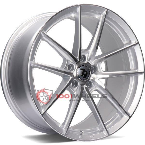 79Wheels SCF-A silver-polished-face