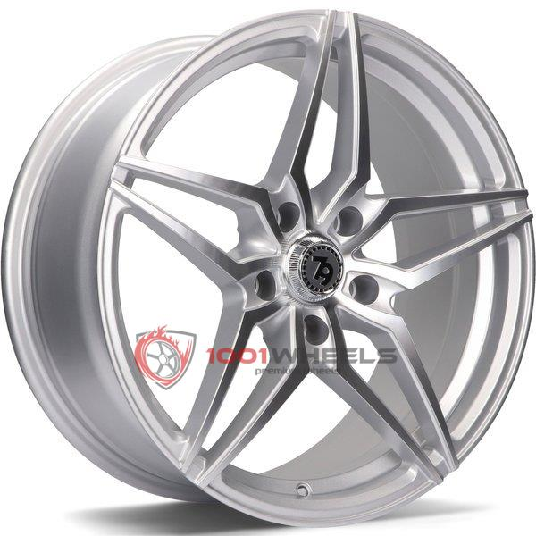 79Wheels SV-A silver-polished-face