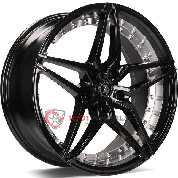 79Wheels SV-AR gloss-black-polished-barrel