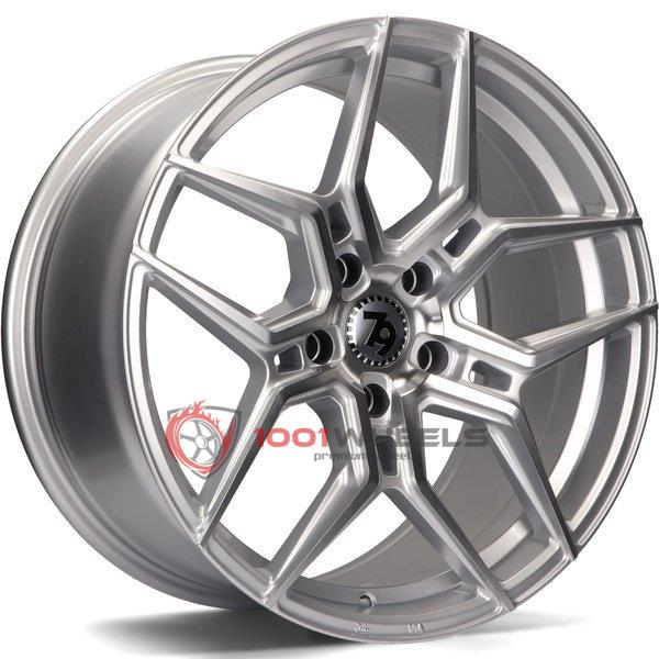 79Wheels SV-B silver-polished-face