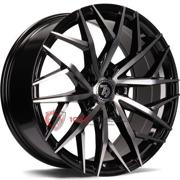 79Wheels SV-C gloss-black-polished-face