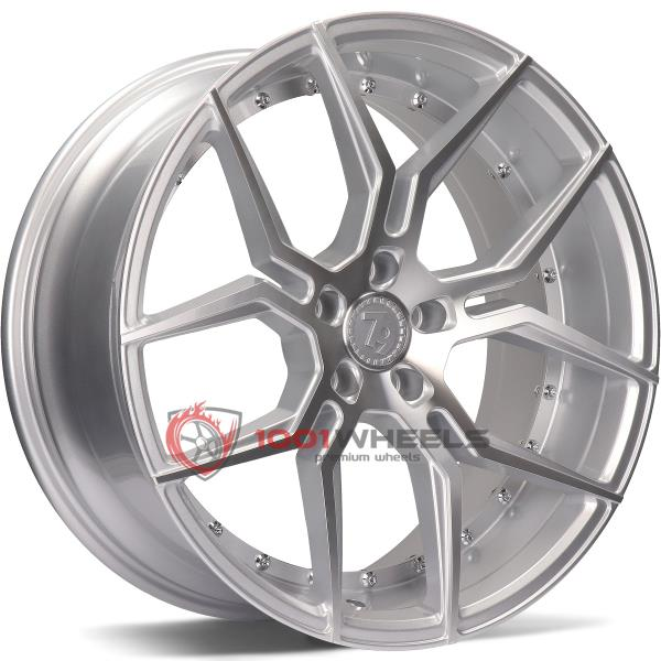 79Wheels SV-D silver-polished-face