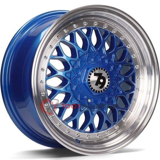 79Wheels SV-E blue-polished-lip