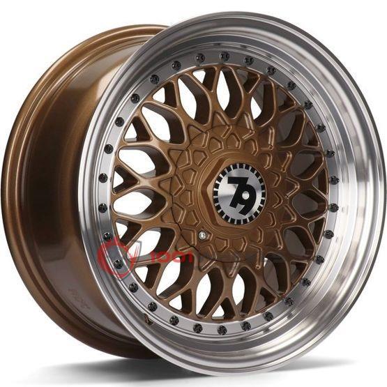 79Wheels SV-E bronze-polished-lip