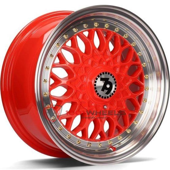 79Wheels SV-E red-polished-lip