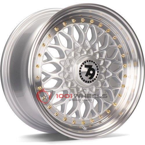 79Wheels SV-E silver-polished-lip