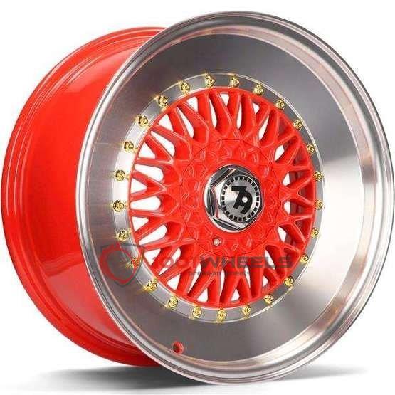 79Wheels SV-F red-polished-lip
