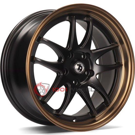 79Wheels SV-I matt-black-bronze-lip