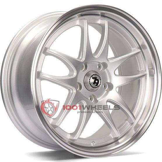 79Wheels SV-I silver-polished-lip