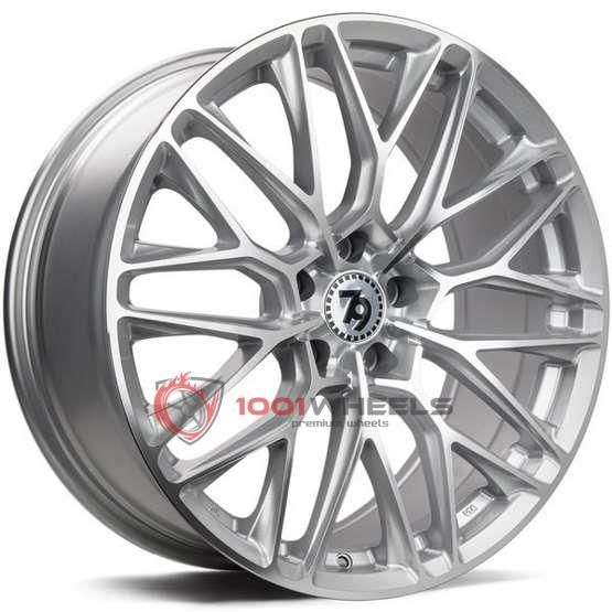 79Wheels SV-P silver-polished-face