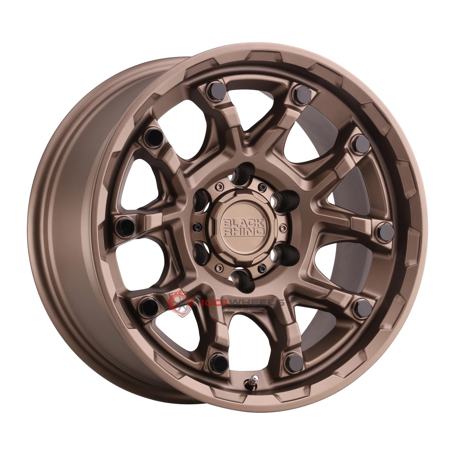 BLACK RHINO ARK bronze-wgloss-black-bolt