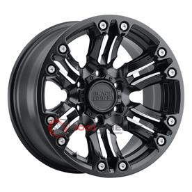 BLACK RHINO ASAGAI matte-black-wmachined-spoke-and-stainless-bolts