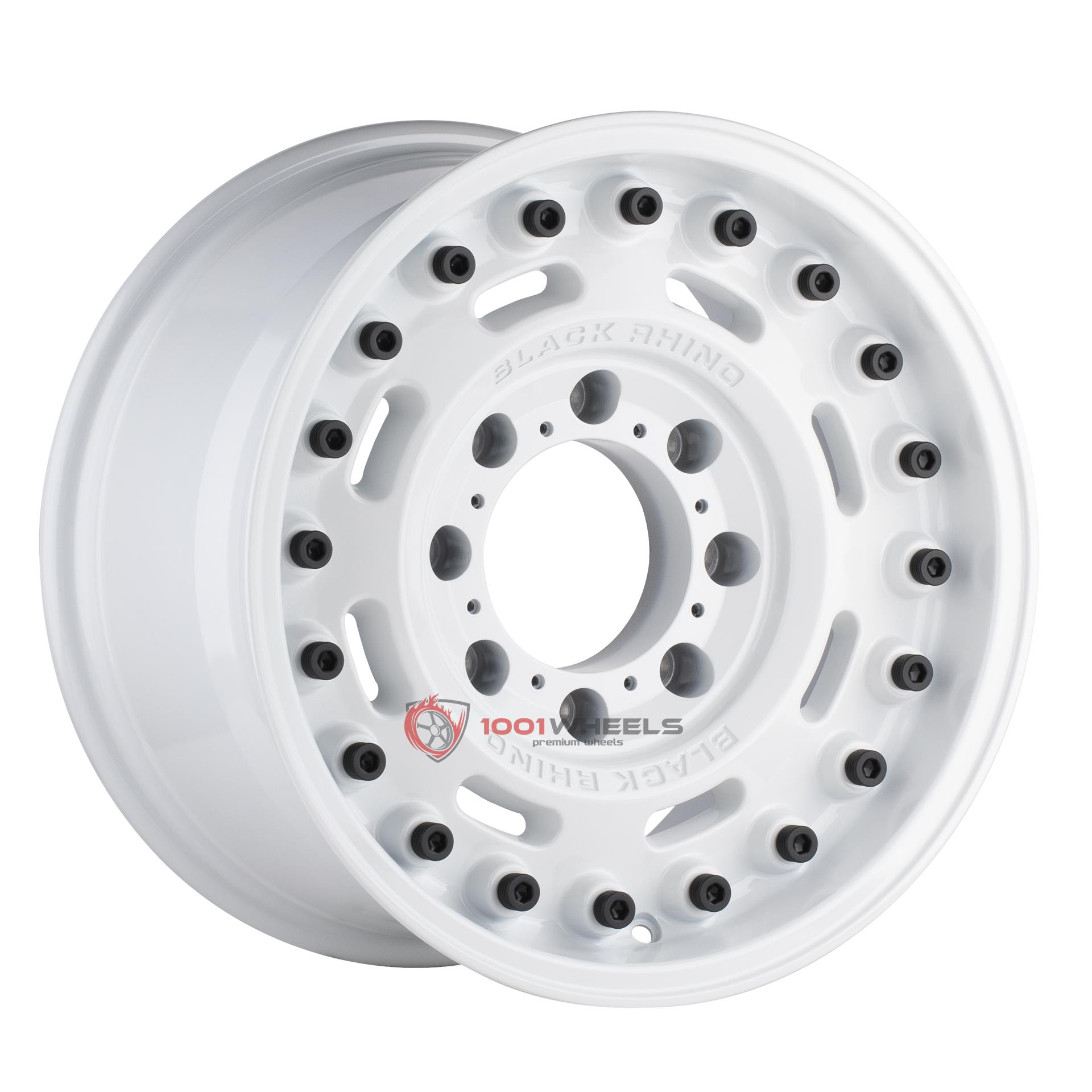 BLACK RHINO AXLE gloss-white