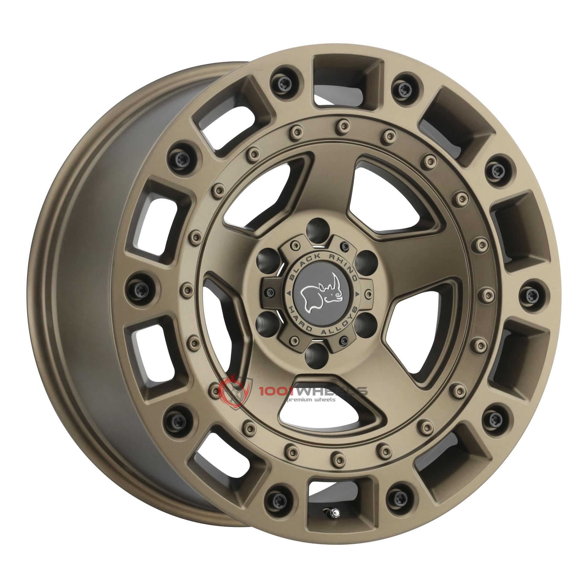BLACK RHINO CINCO bronze-wblack-bolts