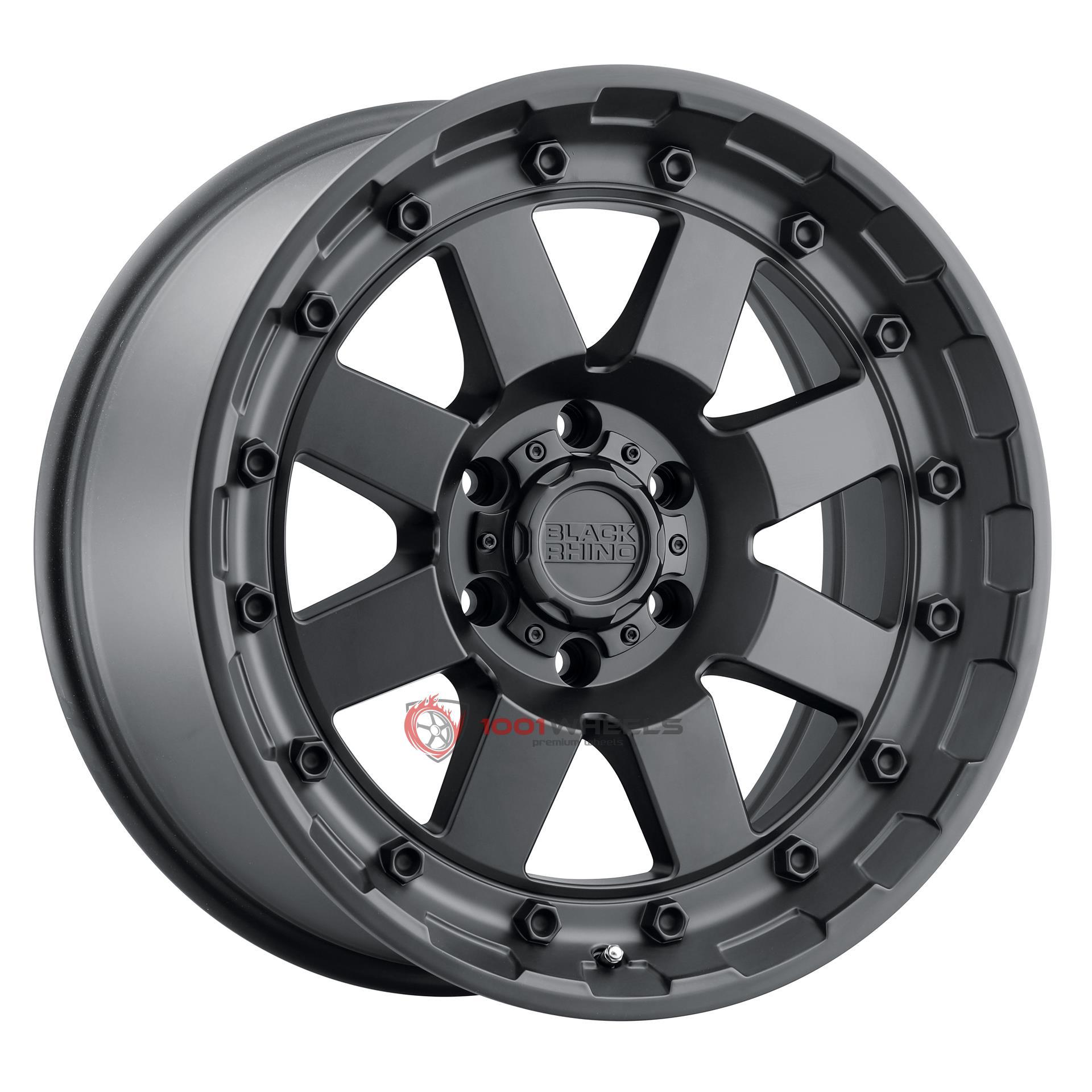 BLACK RHINO CLEGHORN matte-black