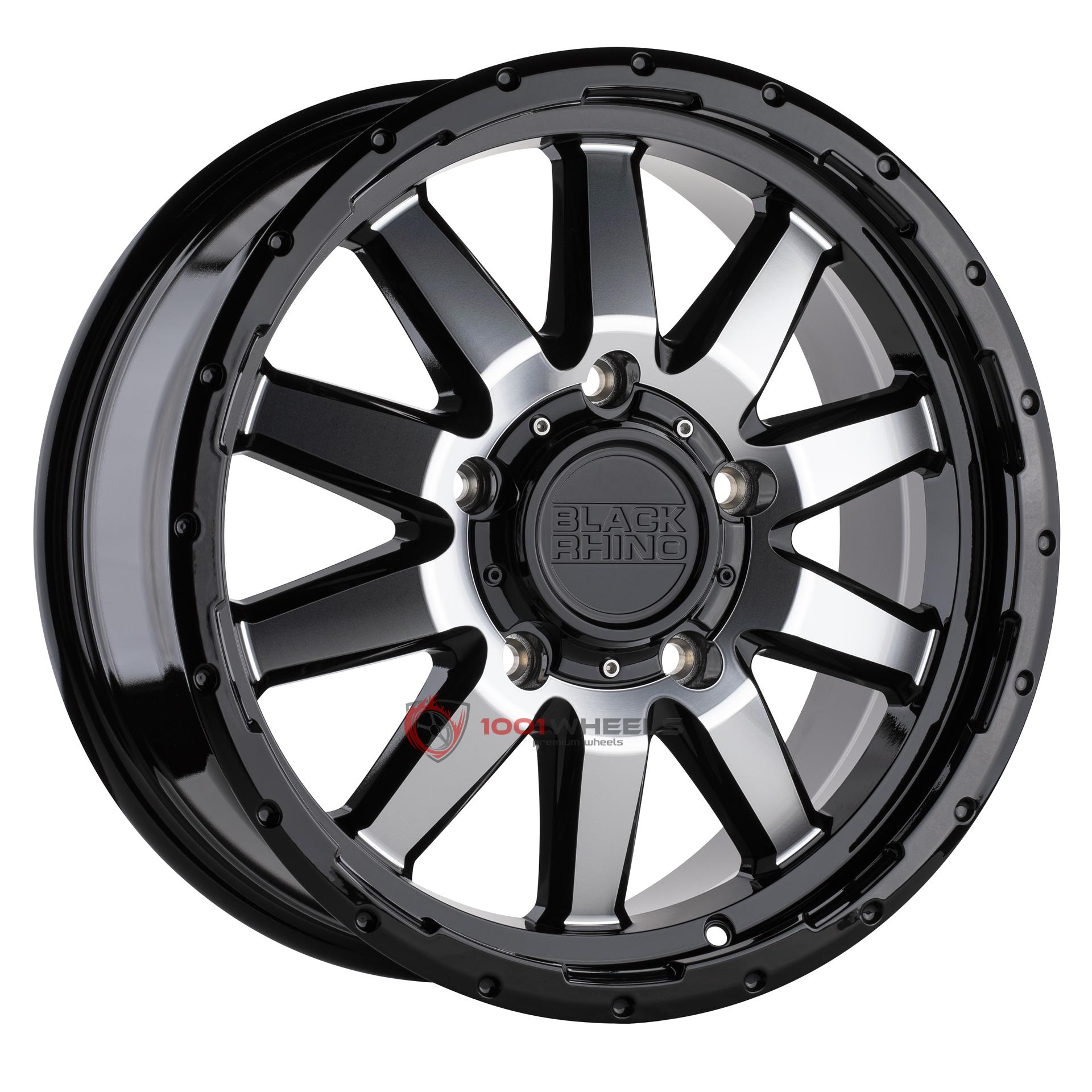BLACK RHINO EXCURSION gloss-black-wmirror-face