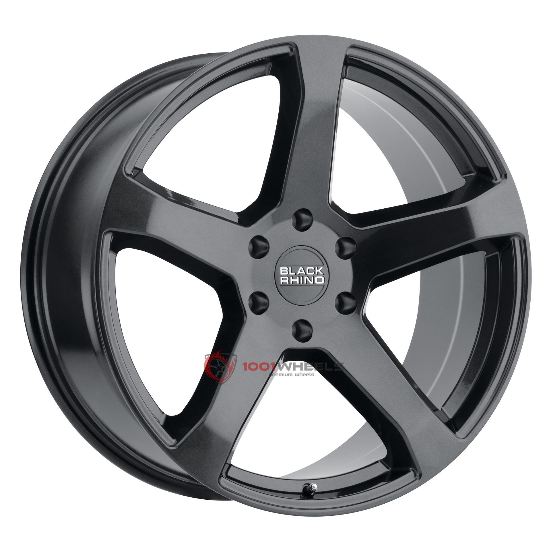 BLACK RHINO FARO metallic-black
