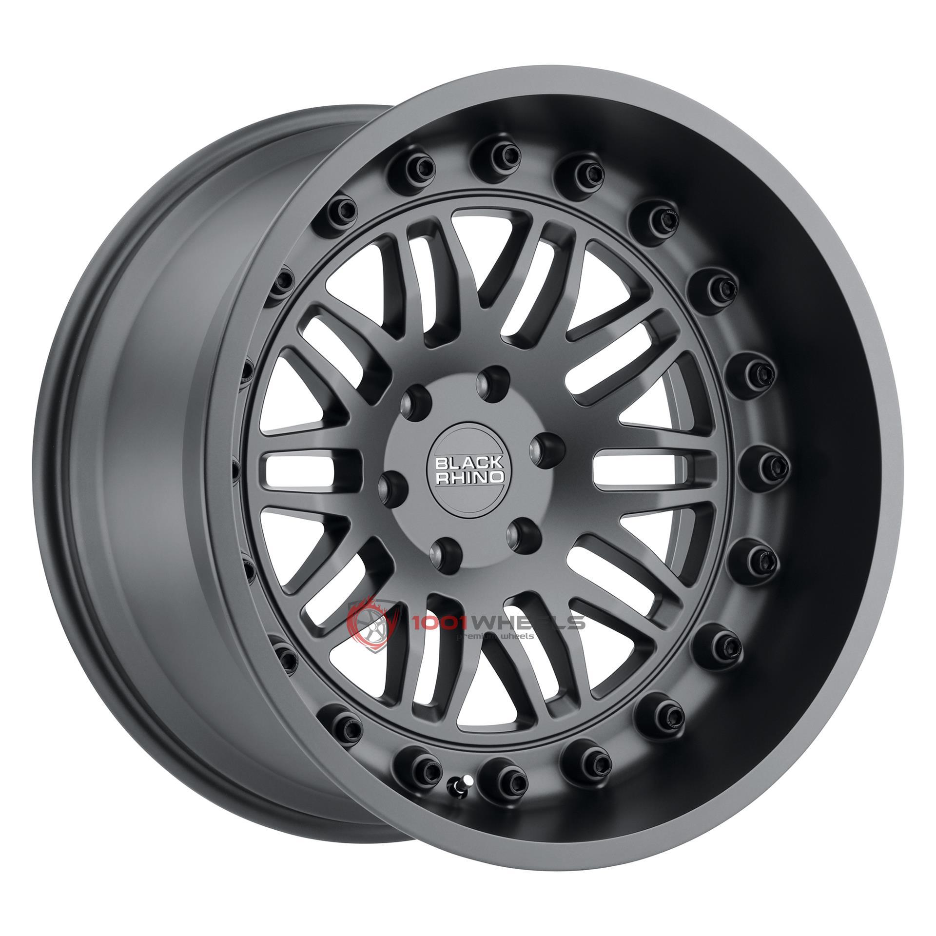 BLACK RHINO FURY matte-gunmetal