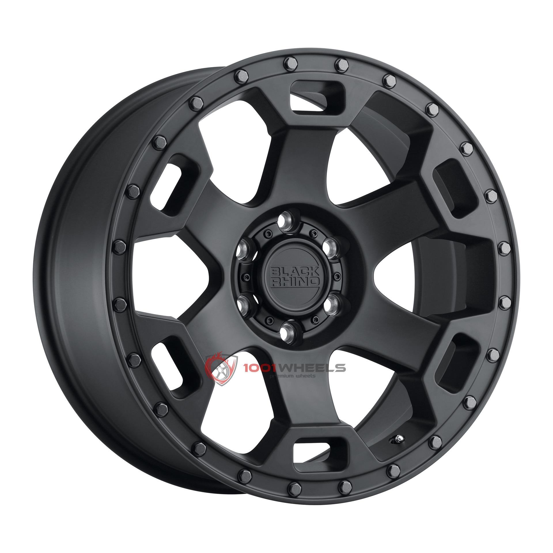 BLACK RHINO GAUNTLET semi-gloss-black-wgunmetal-bolt