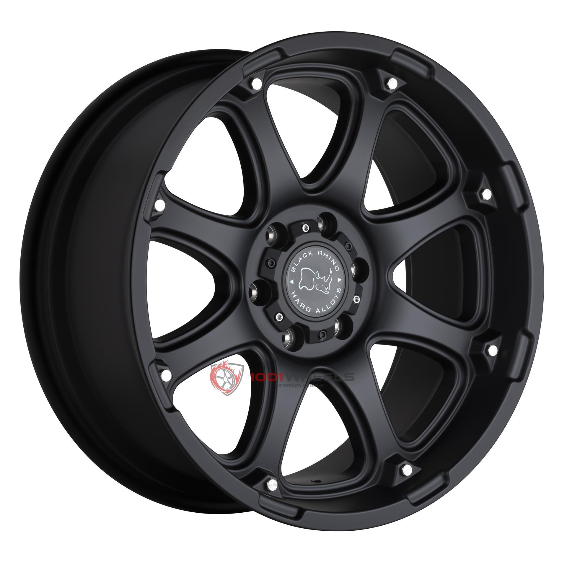 BLACK RHINO GLAMIS matte-black