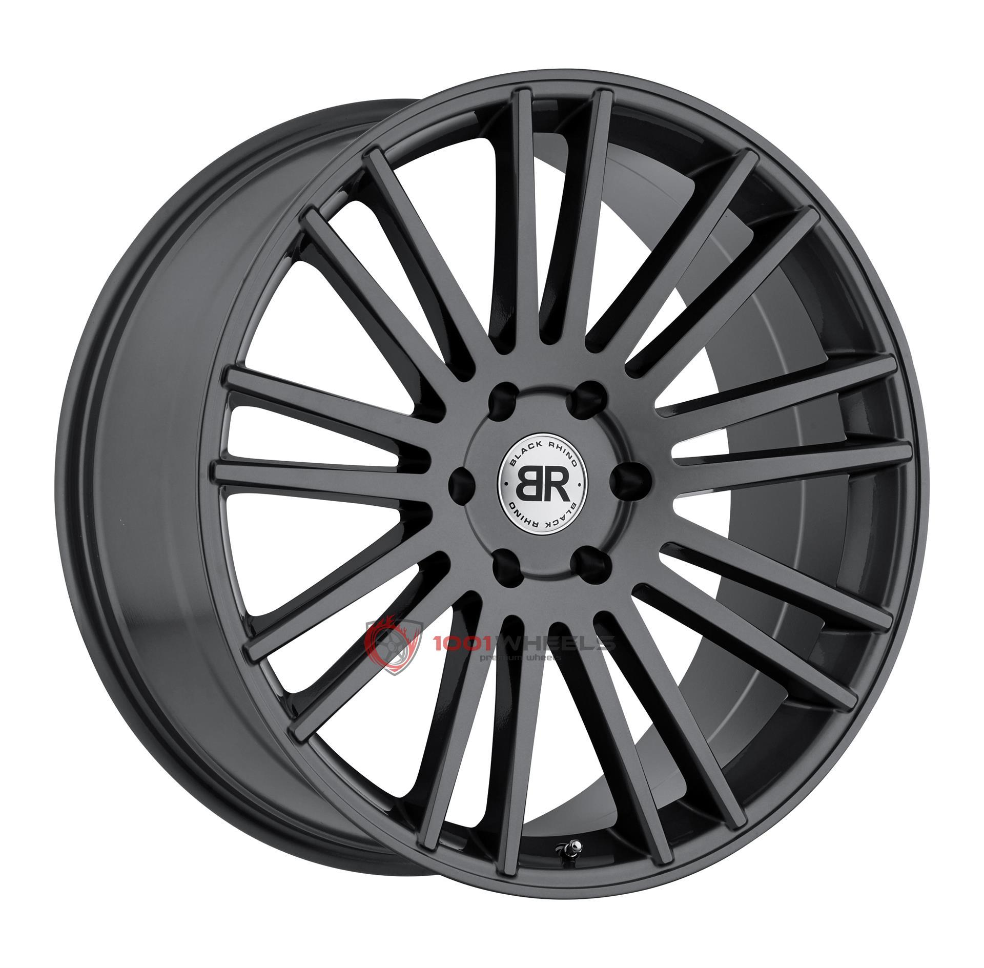 BLACK RHINO KRUGER gloss-gunmetal