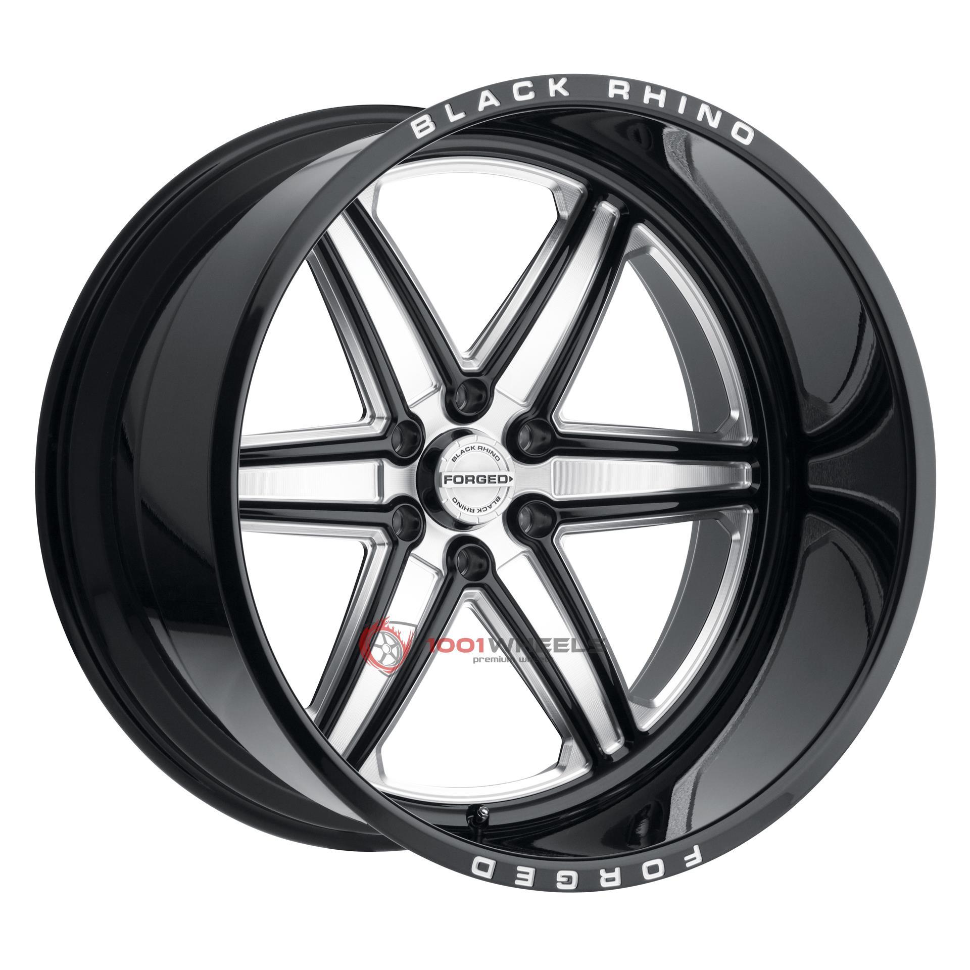BLACK RHINO MARAUDER gloss-black-wmilled-spokes