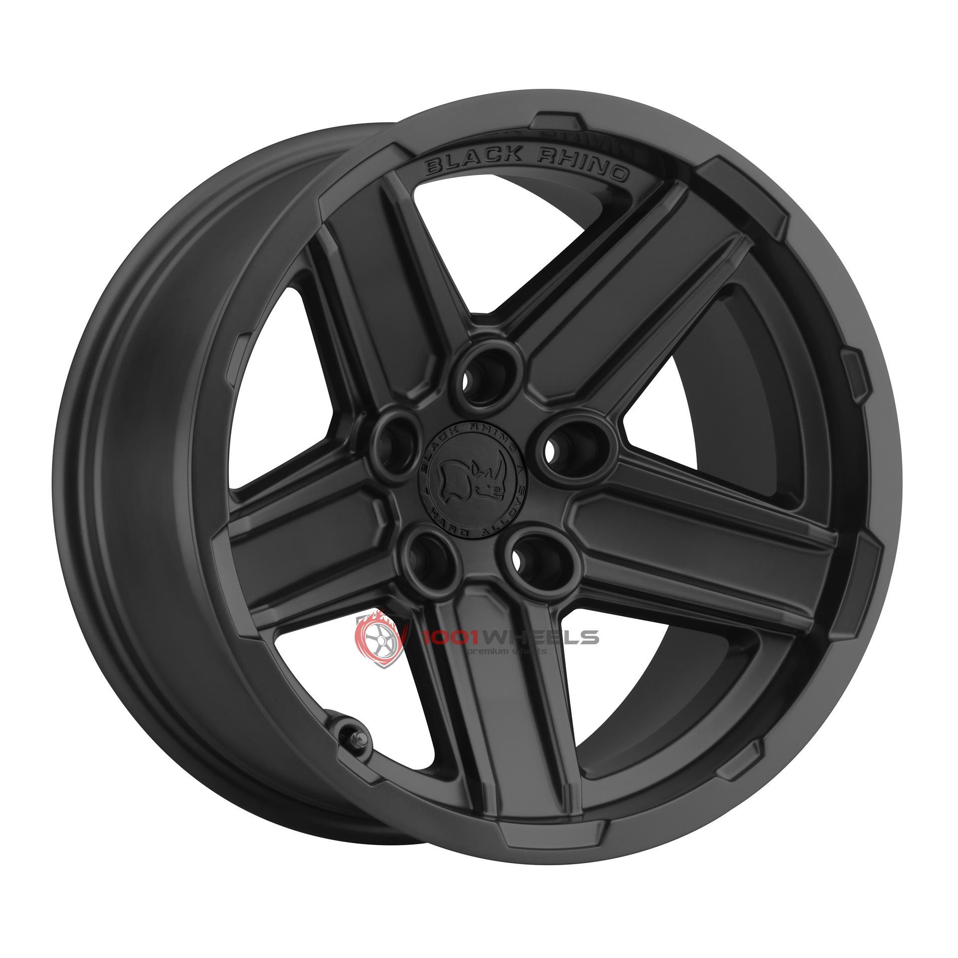 BLACK RHINO RECON matte-black