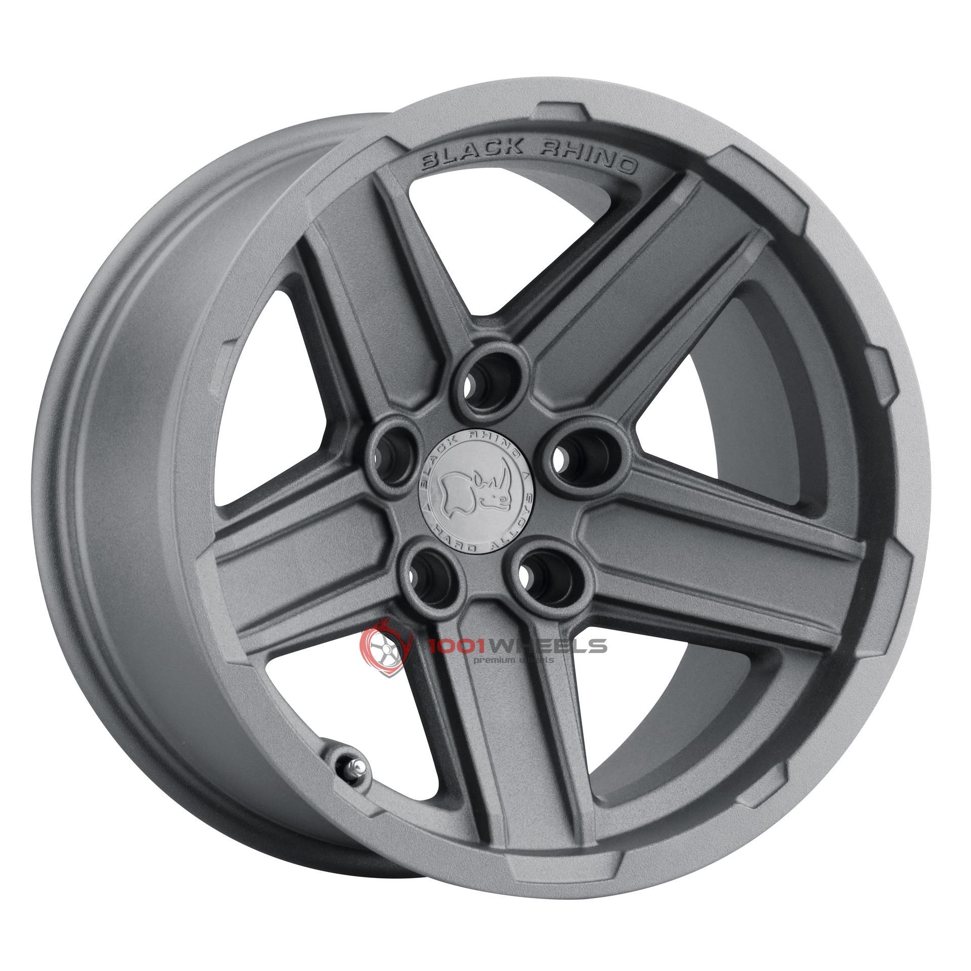 BLACK RHINO RECON textured-gunmetal