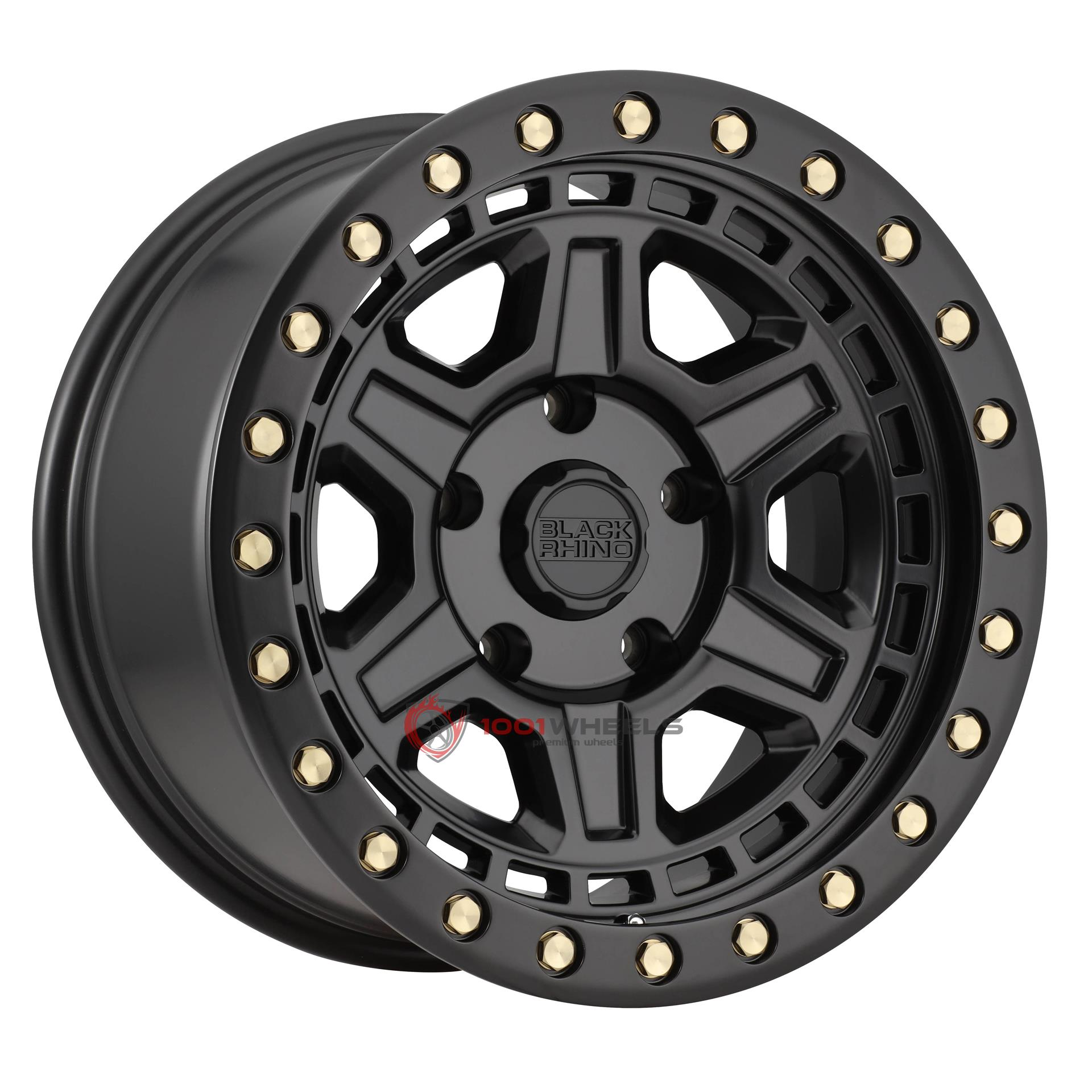 BLACK RHINO RENO matte-black-wbrass-bolts