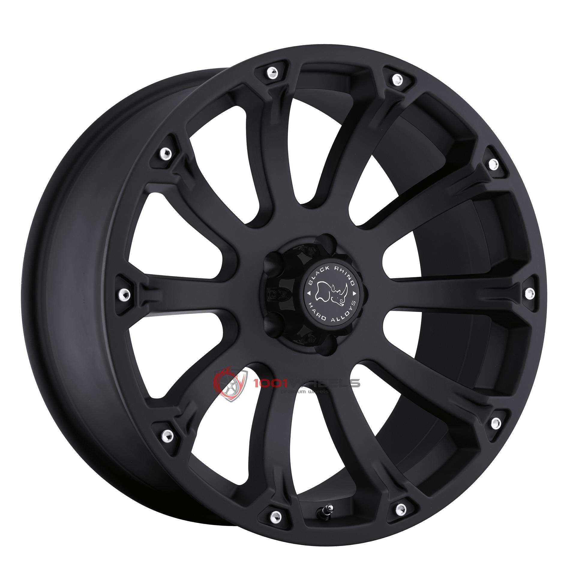 BLACK RHINO SIDEWINDER matte-black