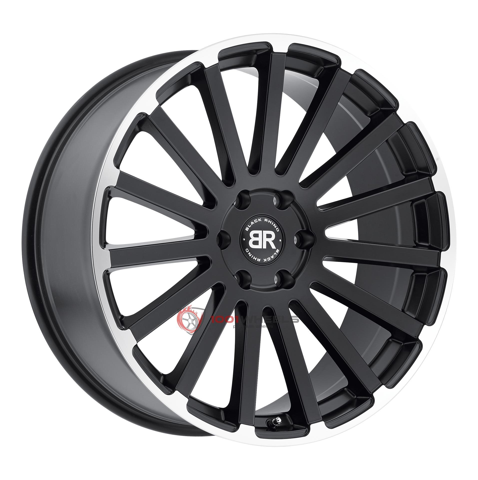 BLACK RHINO SPEAR matte-black-wmatte-machine-lip-edge
