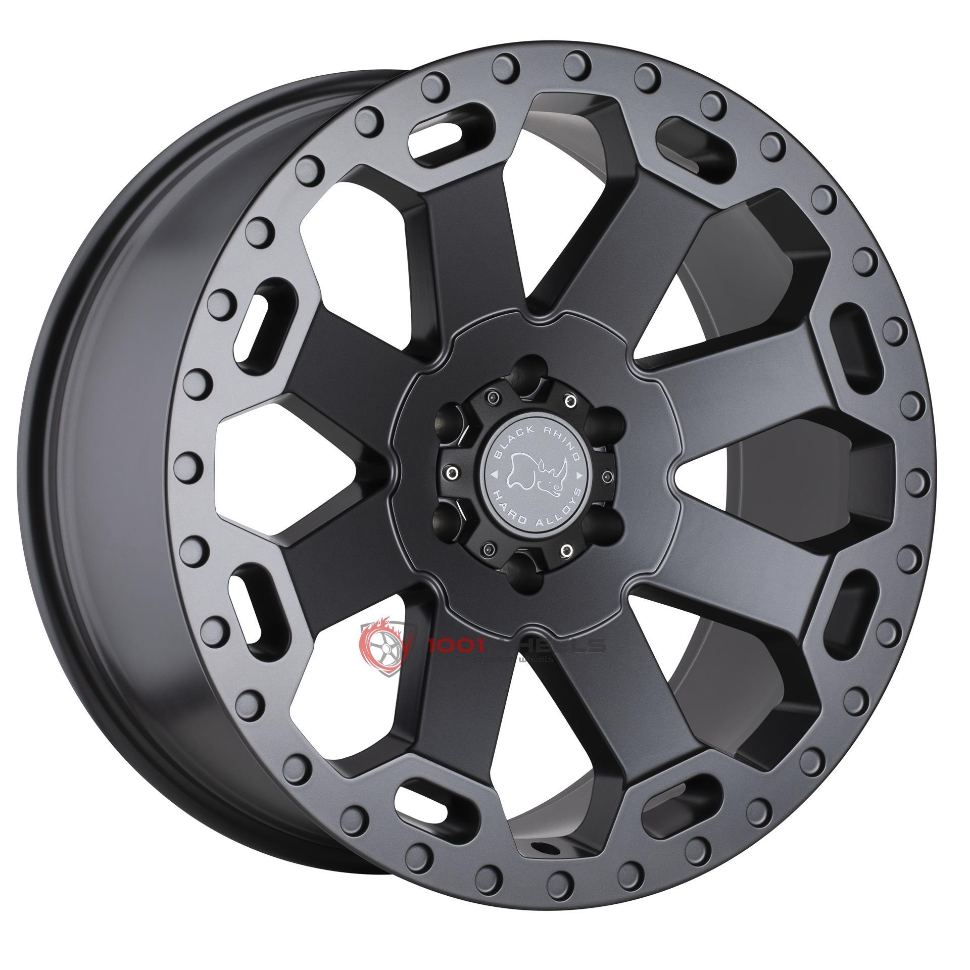 BLACK RHINO WARLORD matte-gunmetal