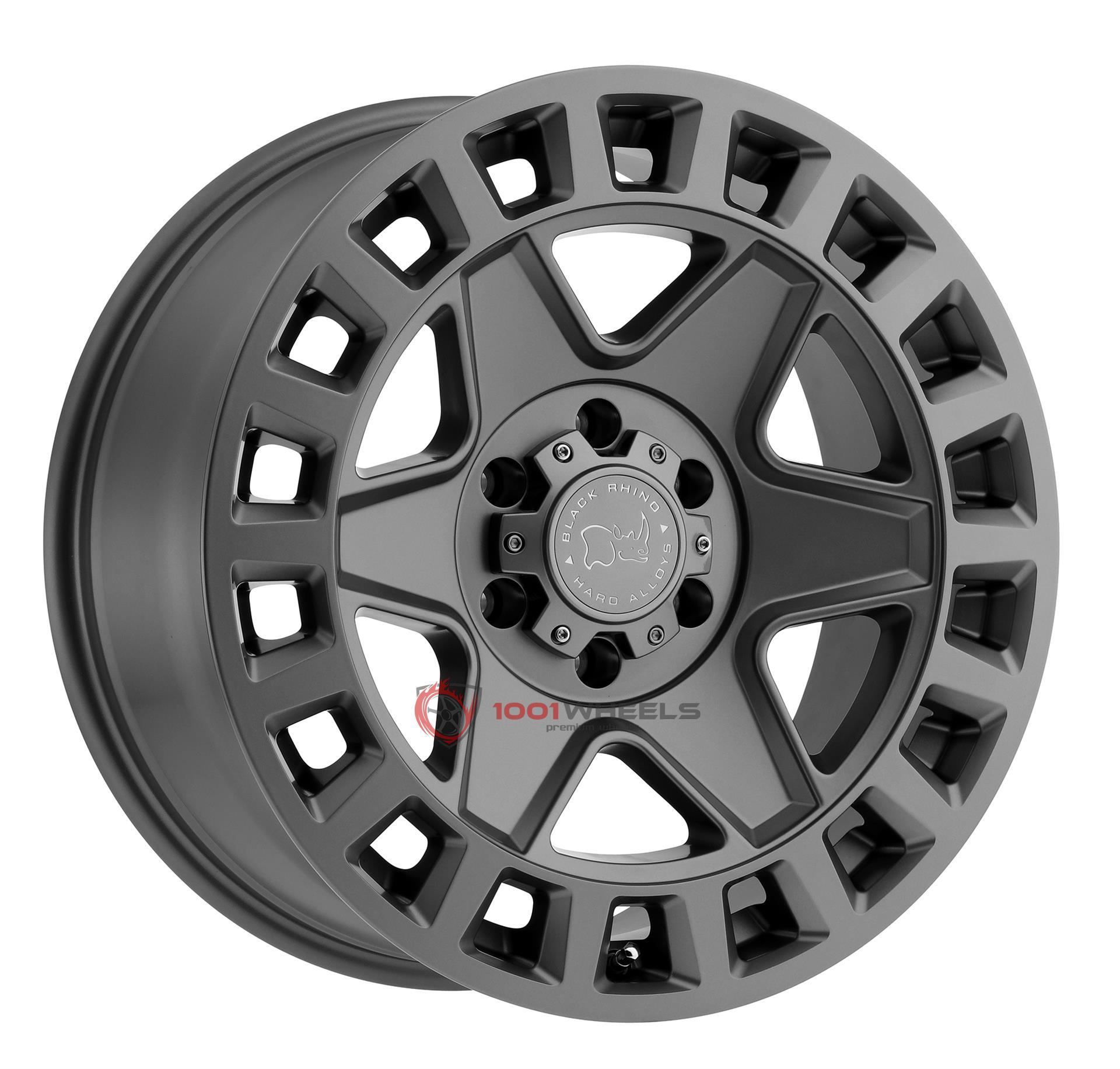 BLACK RHINO YORK matte-gunmetal