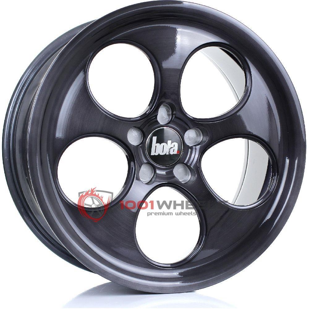 BOLA B5 black-brushed-polished-face