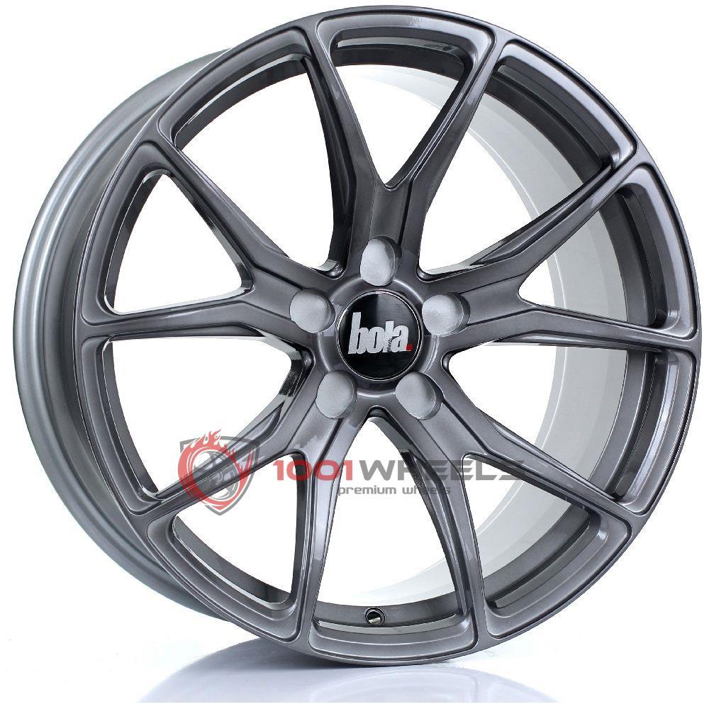 BOLA B6 gloss-titanium