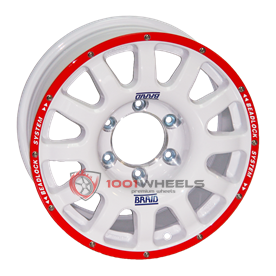 Braid Fullrace Dakar Beadlock B white