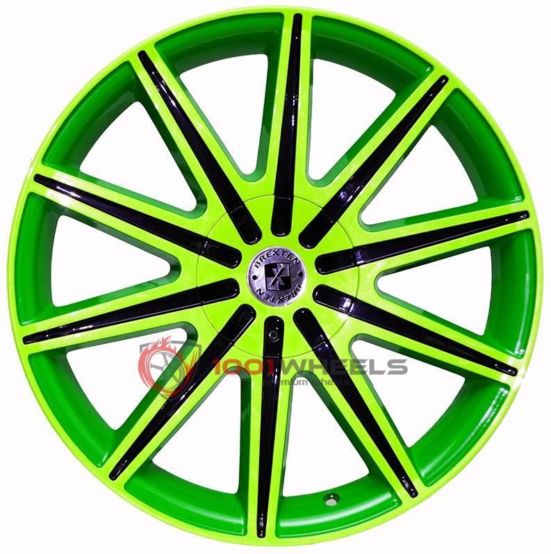 BREXTEN CUSTOM BX-10 2-greens-with-black