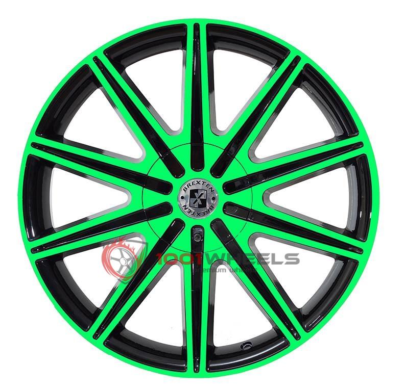 BREXTEN CUSTOM BX-10 black-and-green