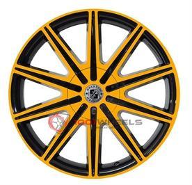 BREXTEN CUSTOM BX-10 black-and-orange