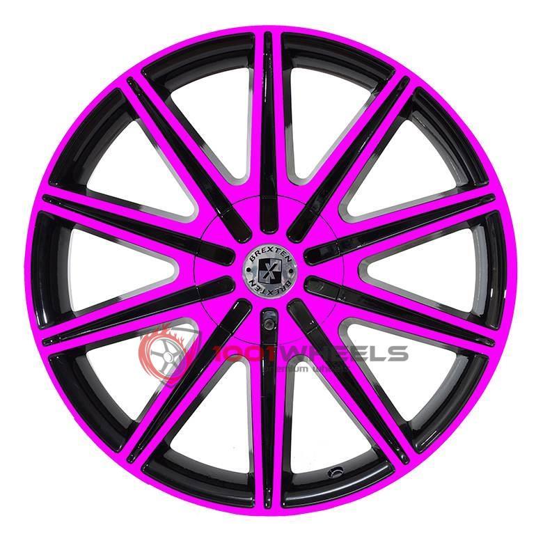 BREXTEN CUSTOM BX-10 black-and-pink