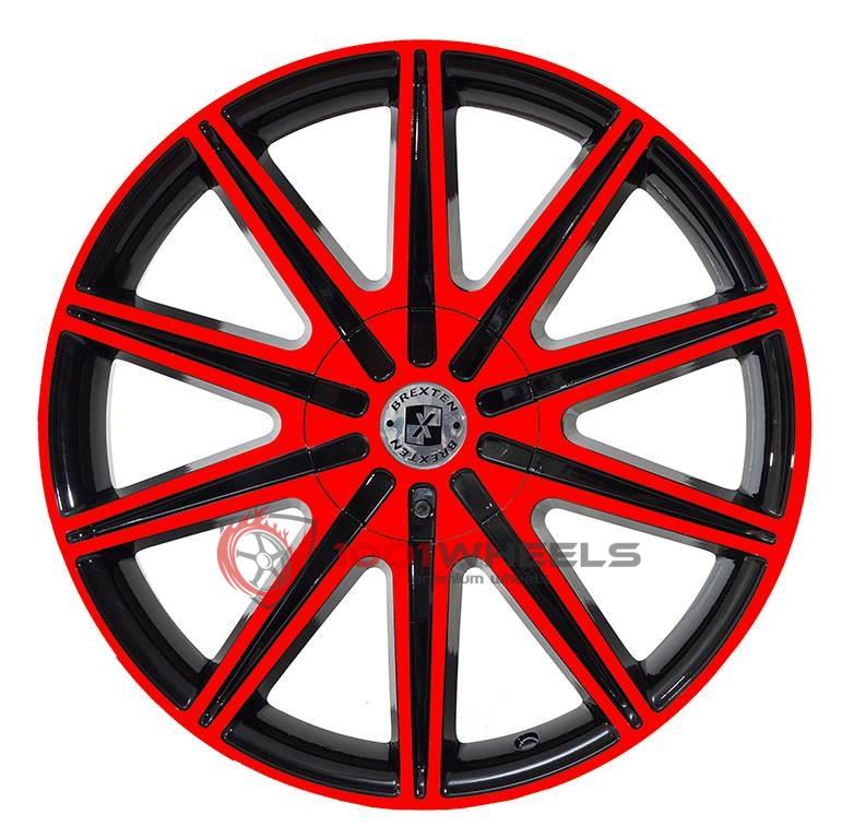BREXTEN CUSTOM BX-10 black-and-red
