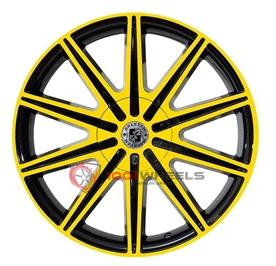 BREXTEN CUSTOM BX-10 black-and-yellow
