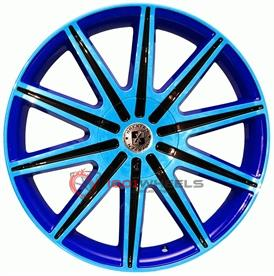 BREXTEN CUSTOM BX-10 blue-and-black