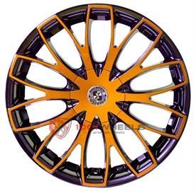 BREXTEN CUSTOM BX-20 black-and-orange