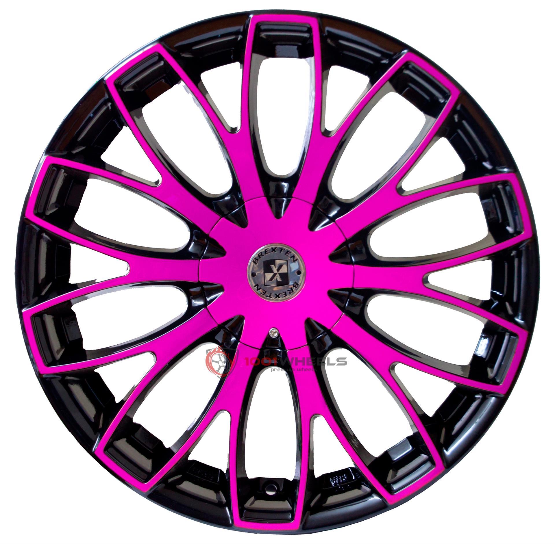 BREXTEN CUSTOM BX-20 black-and-pink