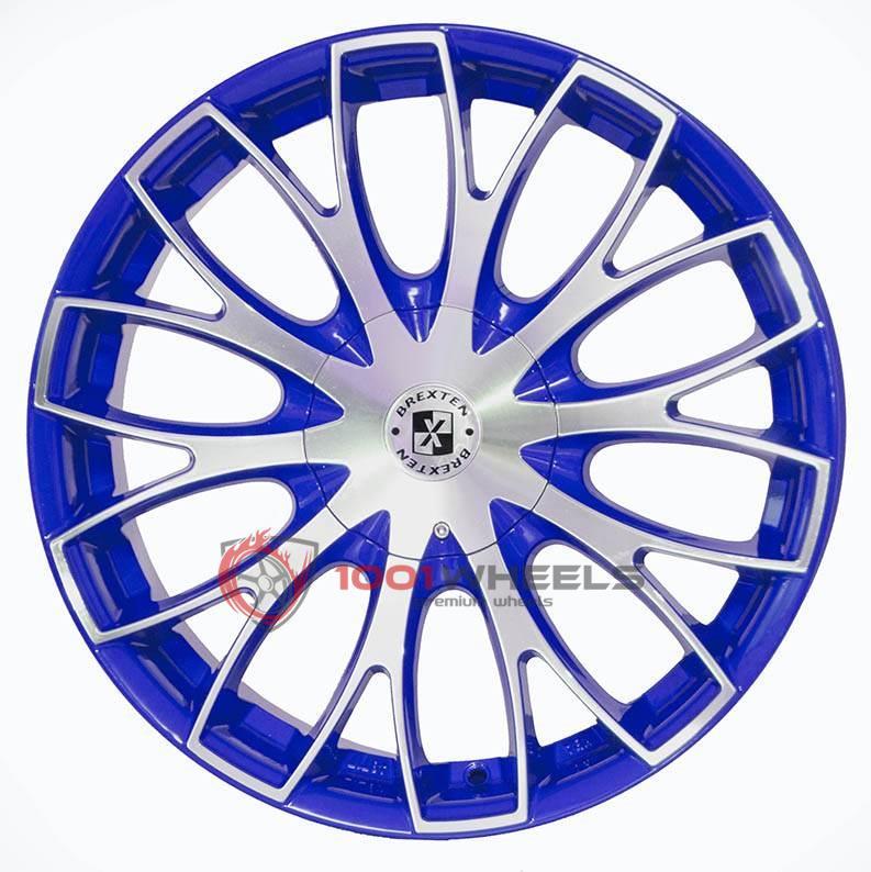 BREXTEN CUSTOM BX-20 blue-polished