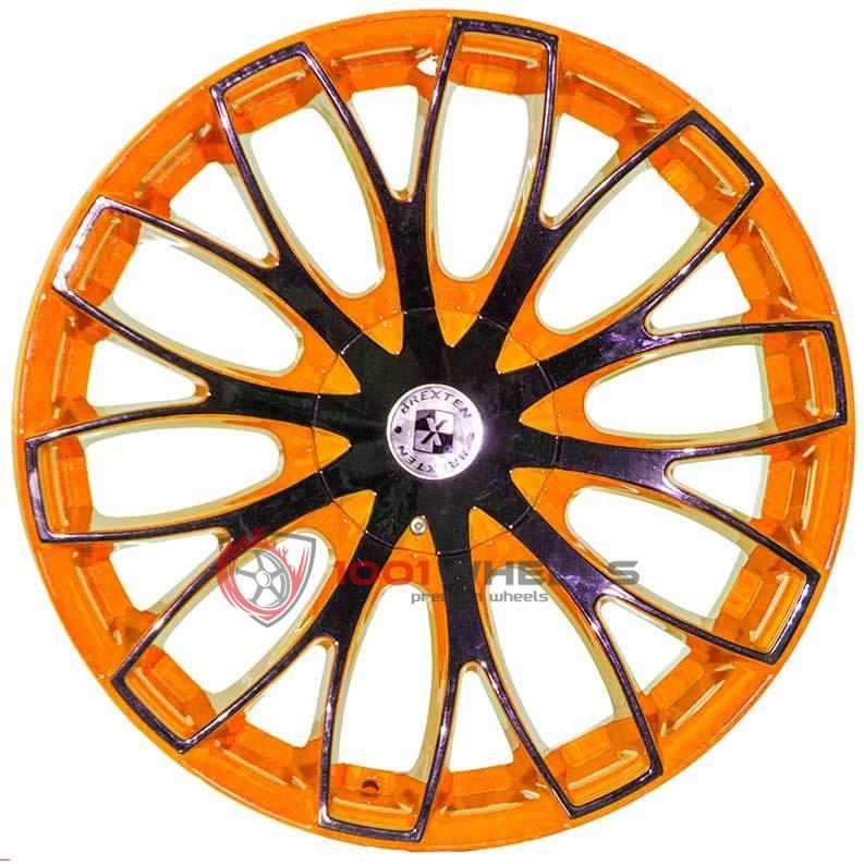 BREXTEN CUSTOM BX-20 orange-and-black