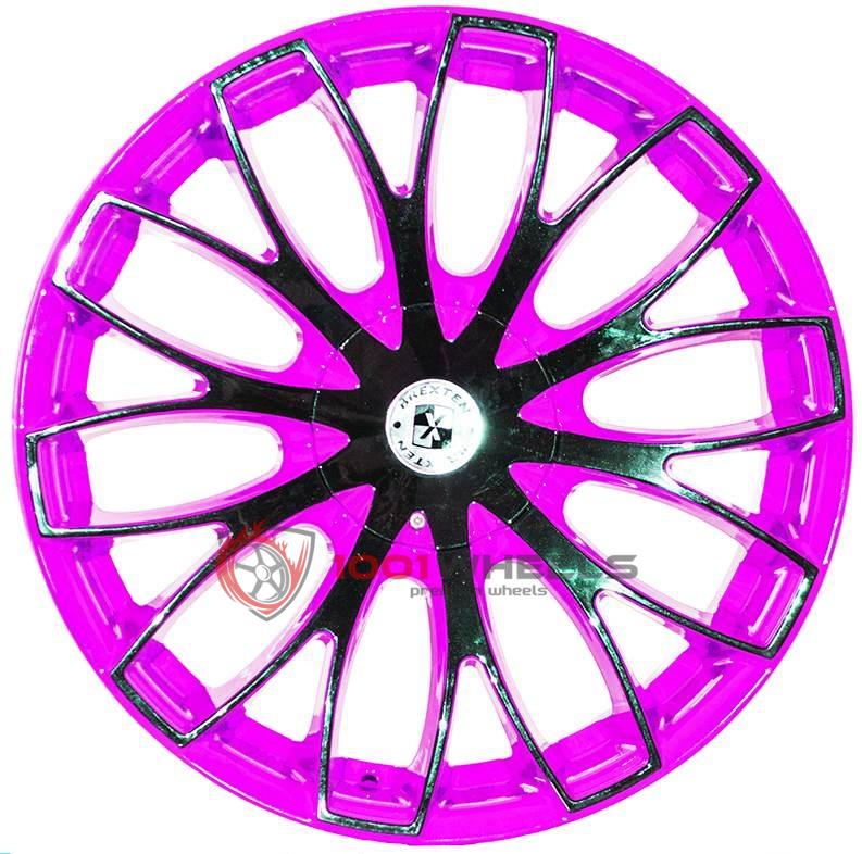 BREXTEN CUSTOM BX-20 pink-and-black