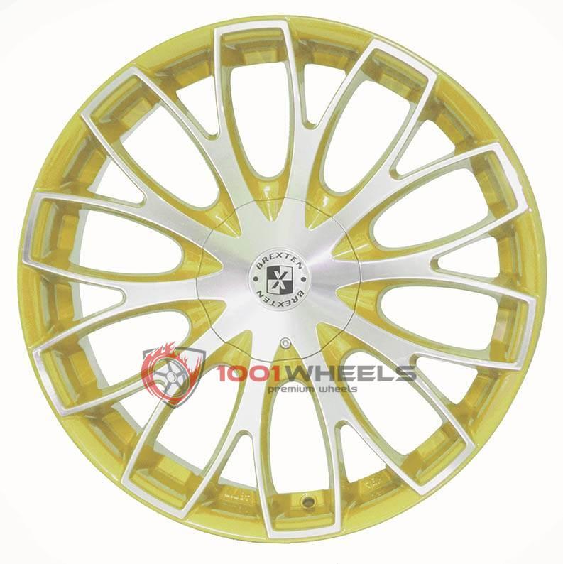BREXTEN CUSTOM BX-20 yellow-polished