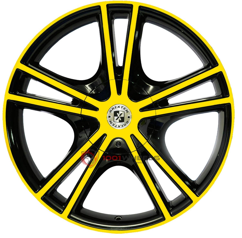 BREXTEN CUSTOM BX-25 black-and-yellow